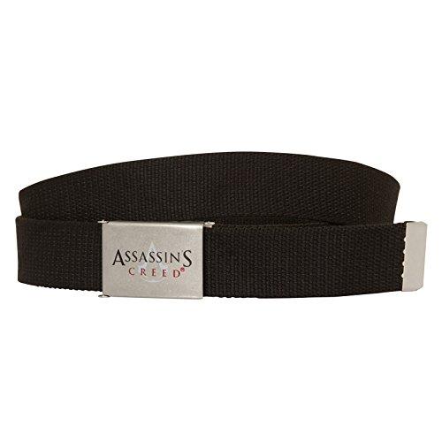 Assassins Creed Ubisoft Canvas-Gürtel für Erwachsene - Offizielles Merchandise (Gürtel Assassins Creed)