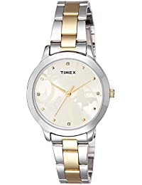 Timex Fashion Analog Gold Dial Women's Watch-TW000T608