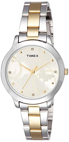Timex Fashion Analog Gold Dial Women\'s Watch-TW000T608