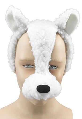 Schaf Jungen Kostüm Für - Fancy Me Damen Herren Mädchen Jungen Animal Halloween Buch Kostüm Gesichtsmaske mit Ton Kostüm Outfit Zubehör - Schafe
