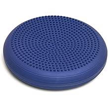 Togu Dyn-Air Senso - Cojín para fitness (33 cm), color azul/lila