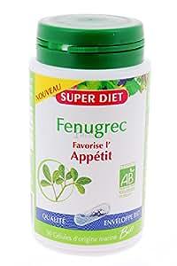 SuperDiet Fenugrec favorise l'appétit 90 gélules