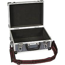 Velleman Perel - Maletín rígido con acolchado para dispositivo de foto o vídeo, gris