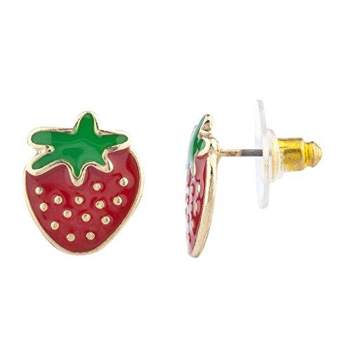 lux-accessories-dorato-rosso-fragola-frutta-novita-orecchino-posti