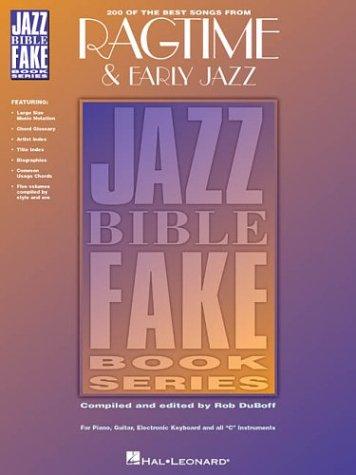Ragtime & Early Jazz - 1900-1935 (Jazz Bible Fake Book Series) -