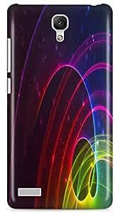 PCM High Quality Printed Designer Polycarbonate Hard Back Cover for Xiaomi Redmi Note Prime / Redmi Note 4G / Redmi Note Prime 4G- Matte Finish - Color Warranty - 0882