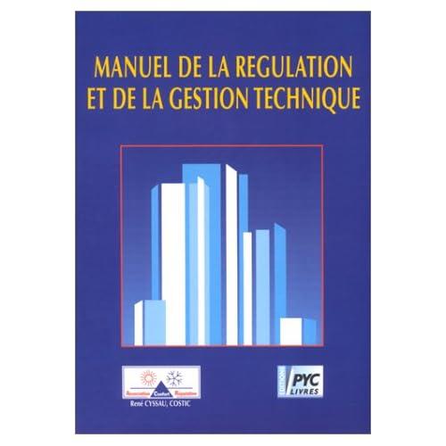 Manuel de la régulation et de la gestion technique
