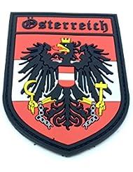 Austria Escudo Österreich Crest Airsoft Velcro PVC Parche