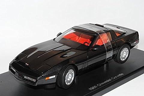 Chevrolet Chevy Corvette C4 Coupe Schwarz 1983-1996 71242 1/18 AutoArt Modell Auto mit individiuellem Wunschkennzeichen