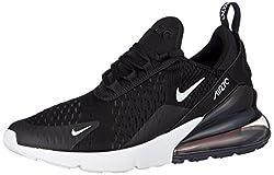Nike Jungen Air Max 270 (gs) Laufschuhe, Mehrfarbig (Black/White/Anthracite 001), 38 EU