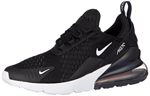 Nike Air Max 270 (GS), Scarpe Running Bambino, Nero (Black/White/Anthracite 001), 38 EU