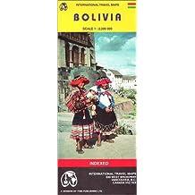 Carte routière : Bolivie