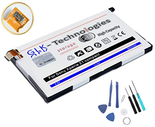Original GLK-Technologies® / Akku passend für Sony Xperia Z1 Compact / D5503 / (ersetzt LIS1529ERPC) / mit Werkzeug Set.Geld ZURÜCK GARANTIE !