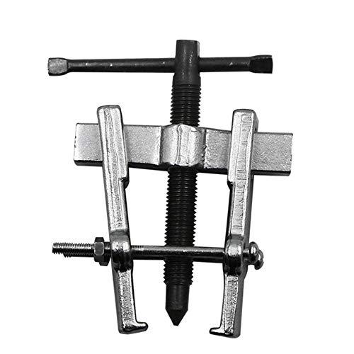 65 MM Zwei Backen Zahnrad Abzieher Anker Lager Spiral Abzieher Lager Entferner Werkzeuge Silber (Spiral-anker)