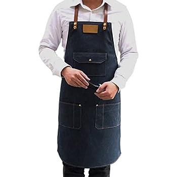 Vintage wash chef barista denim apron CHORLTONVW USKEES CHORLTON Tablier Jean