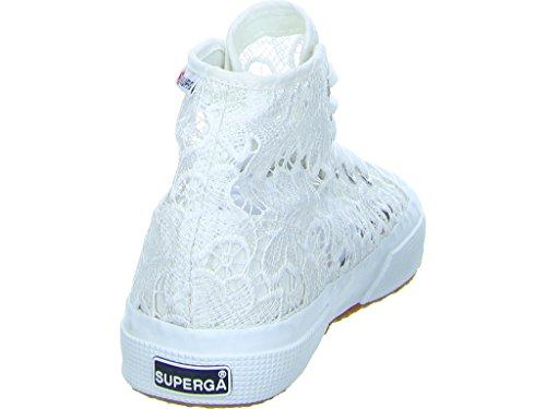 Superga 2795-Macramew, Sneaker, Donna White