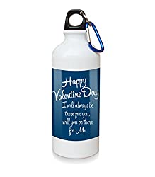 I Will Always There For You White Sipper Bottle