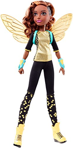 Mattel DLT66 - DC Super Hero Girls Bumble Bee Action Puppe, 30 cm