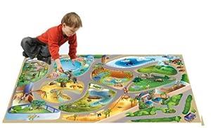 Playmat Collection Connect Alfombra Zoo Multicolor de 100x 150cm