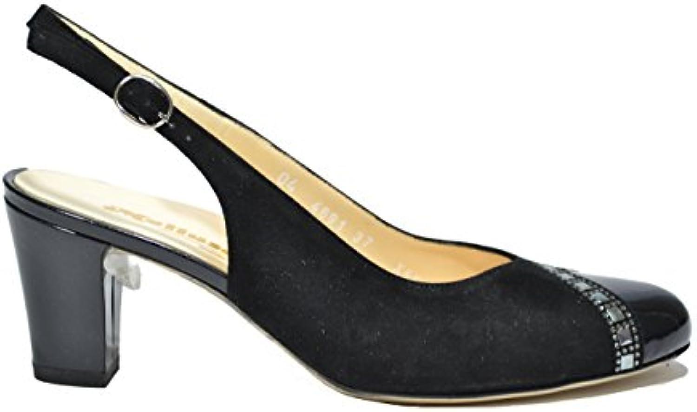 Melluso Decolte' Scarpe Scarpe Scarpe Donna Nero Elegante X552   Nuovi prodotti nel 2019  e296cf