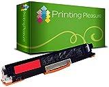 Printing Pleasure Toner kompatibel zu CE313A für HP Color Laserjet CP1025 CP1025NW CP1020 M175a M175nw Pro 100 M175 MFP M175A M175NW M275 TopShot M275 - Magenta, hohe Kapazität