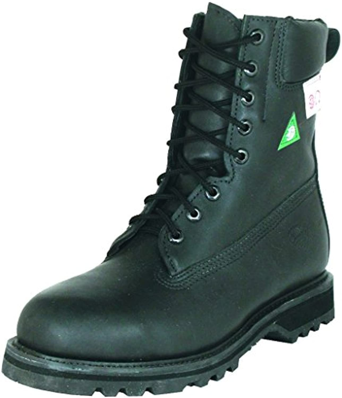 Amerikanische Schuhe   Arbeitsschuhe BO 4048 EE (Fett Fuß)   Mann   Leder   schwarz