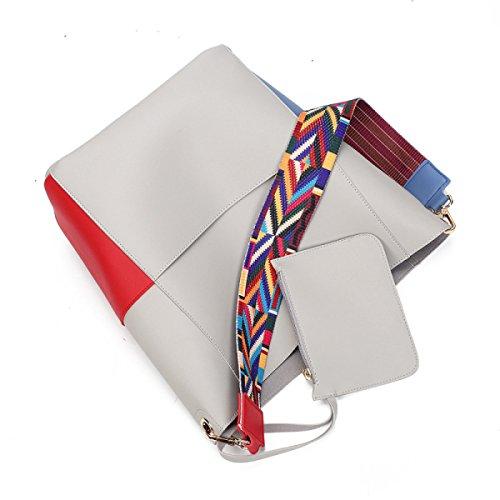 Weibliche Koreanische Version Des Art- Und Weiseunterpakets Schulter-Diagonalpaket-große Beutel-Gezeiten-Handtasche B