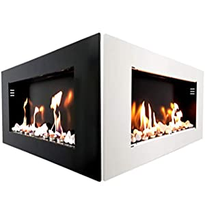 Ethanol & Gel Wall Fireplace Shark Royal Design Fireplace Glossy Ethanol Fireplace Gel Fireplace