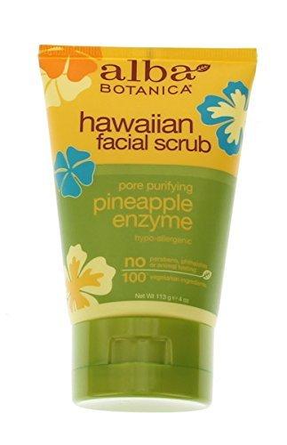 alba-botanica-natural-facial-scrub-hawaiian-pineapple-enzyme-4-oz-by-alba-botanica