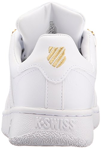 White 50th Classic swiss Vn K white gold Damen Sneaker IqzYnwfx