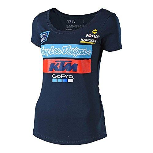 Troy Lee Designs Women's 2018 KTM Team Graphic T-Shirt