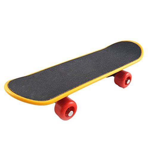 Toyvian Mini Griffbrett Finger Skateboard Spielzeug Ausbildung Skateboard Deck Truck Finger Board Kinder Geschenk Papagei