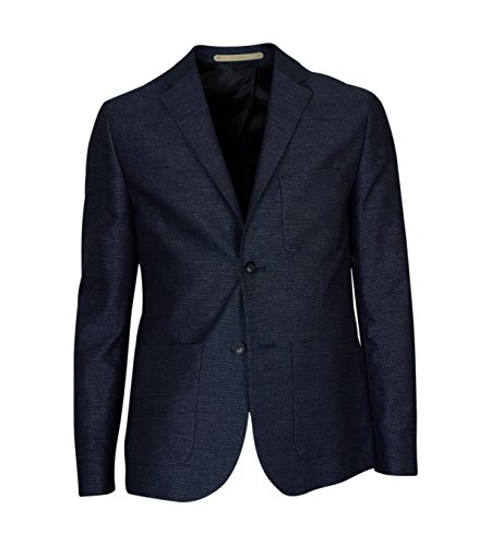 Whyred Herren Blazer Jones in Blau mit Muster navy 741