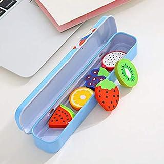 Guoxii ökonomisch Cute Mini Eraser Fruit Rubber Pencil Kinder Kreative Schreibwaren Geschenk VNC(None R)