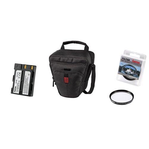Hama Kit für Nikon D40/D40x mit 1Tasche, 1Filter, 1Akku D40 Kit
