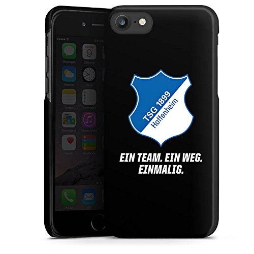 Apple iPhone X Silikon Hülle Case Schutzhülle TSG Hoffenheim Fanartikel 1899 Fußball Hard Case schwarz