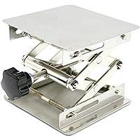 10,2x 10,2cm Stahl lab-lift Hebebühnen Lab Jack Scheren Ständer Rack 100x 100x 150mm
