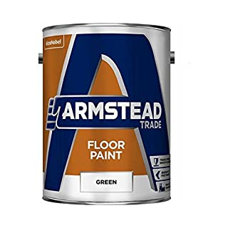 Armstead 5218609 Trade Floor Paint, Green, 5 Liter