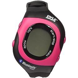Pyle PSBTHR70PN - Monitor de frecuencia cardiaca Bluetooth, color rosa