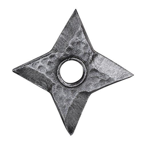 toff-Wurfstern - Polsterwaffe für LARP, Endzeit, Zombie, Karneval, Halloween & Cosplay (Resident Evil Halloween-kostüme)