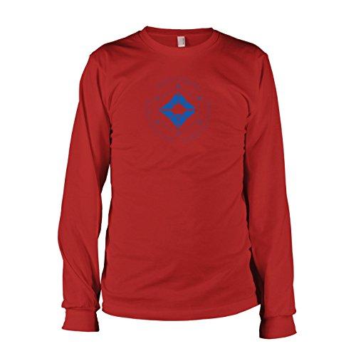 TEXLAB - Geist und Wächter - Langarm T-Shirt, Herren, Größe XL, (Destiny Kostüm Titan)