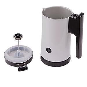 FJ Apparecchi Automatici per la Cucina Domestica Del Compagno Di Caffè Della Macchina Del Schiuma Di Latte Automatica,Bianca,156 * 112 * 200mm