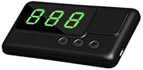 kingneed C60Digital Auto HUD GPS Tacho Overspeed Alarm, Schwarz