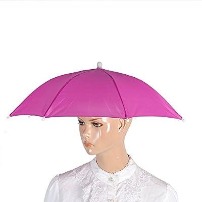 Regenschirm-Hut, bunte Regenschirm-Kopfbedeckung, Sonnenhut - Festivalmode - Damen, Herren, Erwachsene - Verkleidungs-Zubehör - für Golf, Angeln, Camping von Sunshine D auf Outdoor Shop