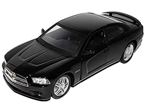 Dodge Charger R/T Limousine Schwarz 2005-2012 1/24 New Ray Modell