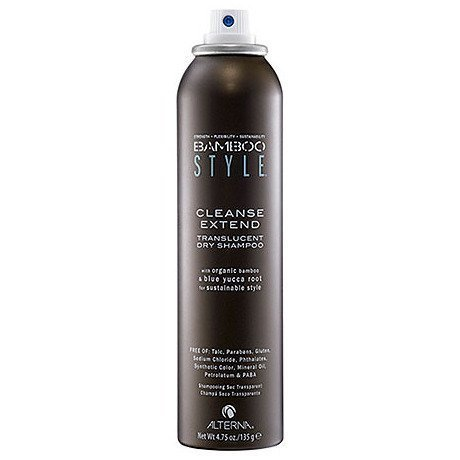 Alterna Bamboo Style Cleanse Extend Translucent Dry Shampoo for Unisex, 4.75 Ounce by Alterna [Beauty] (English Manual)