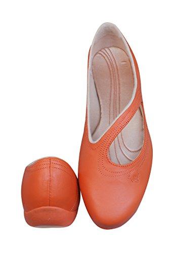 Puma Vitta L Ballet en cuir des pompes de la femme red