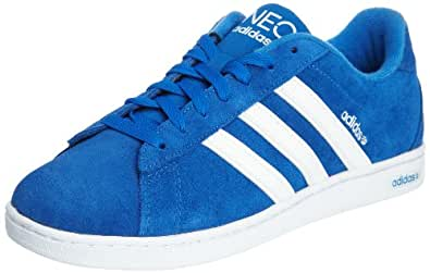 adidas neo blue suede