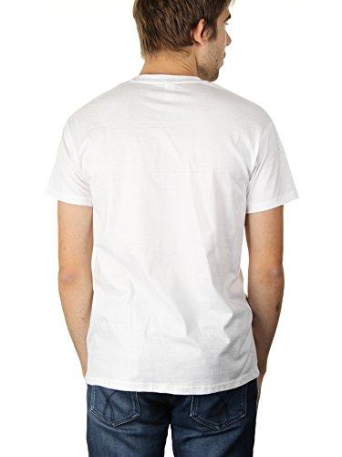 Emotions - Herren T-Shirt von Kater Likoli Weiß