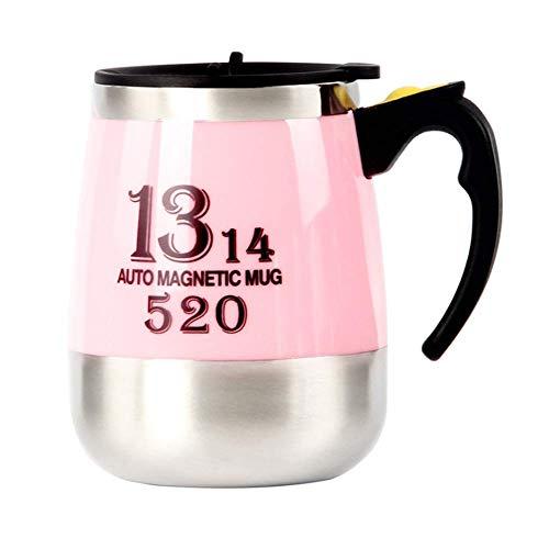 YLRJ Portable Lazy Cup, Magnetrührbecher, Kann Zum Brauen Von Kaffee, Milch Und Anderen Getränken Verwendet Werden -